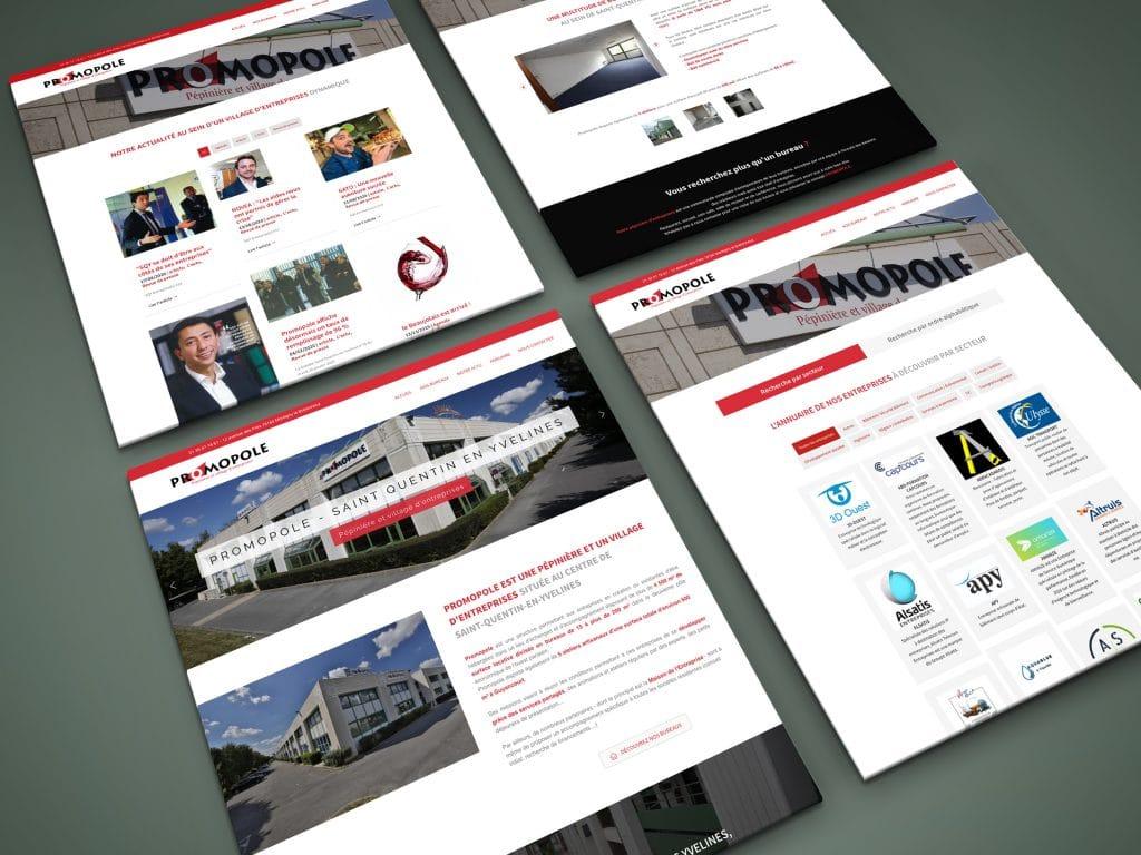 site internet promopole
