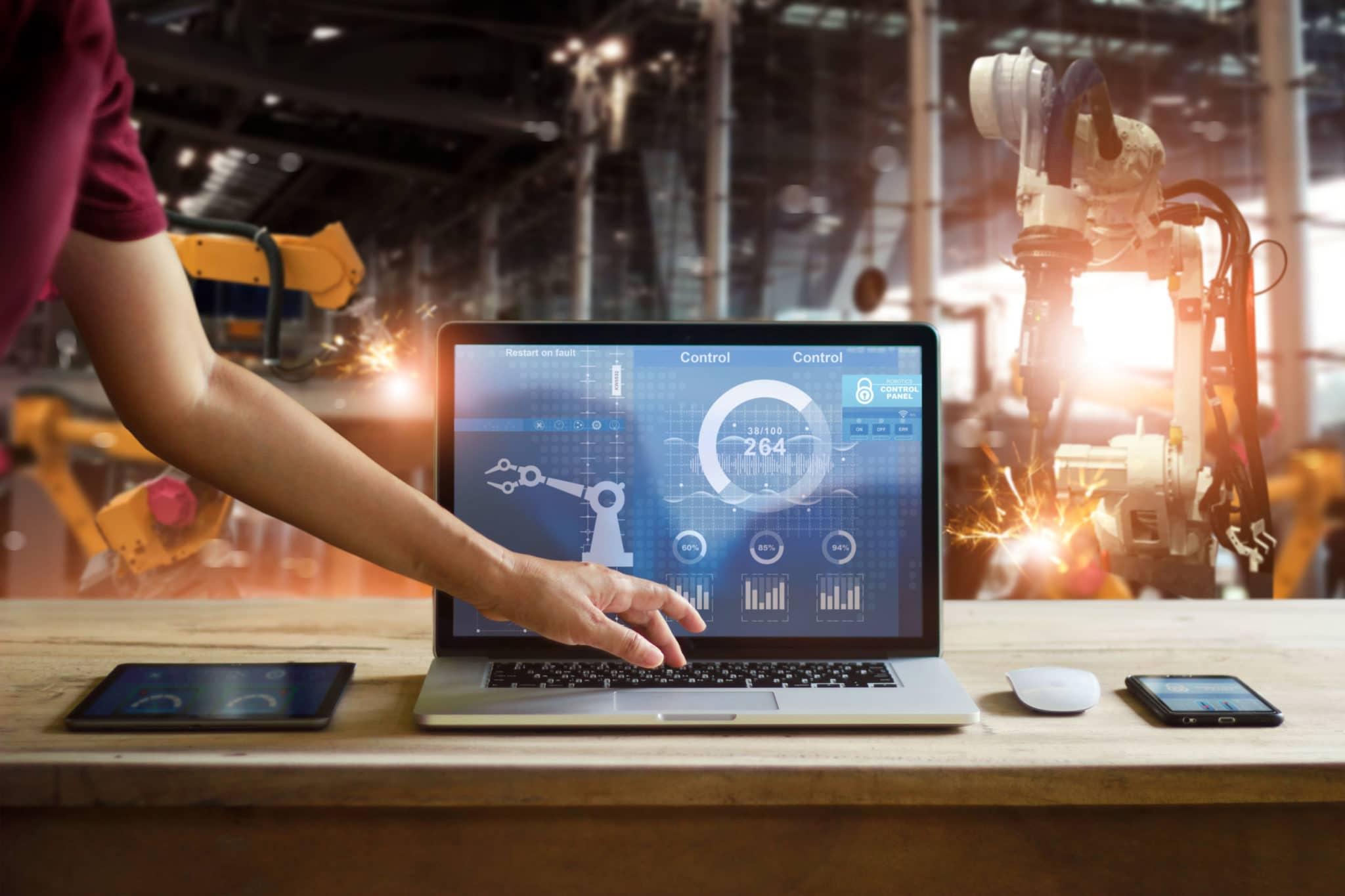 Création de site internet pour les entreprises de l'industrie