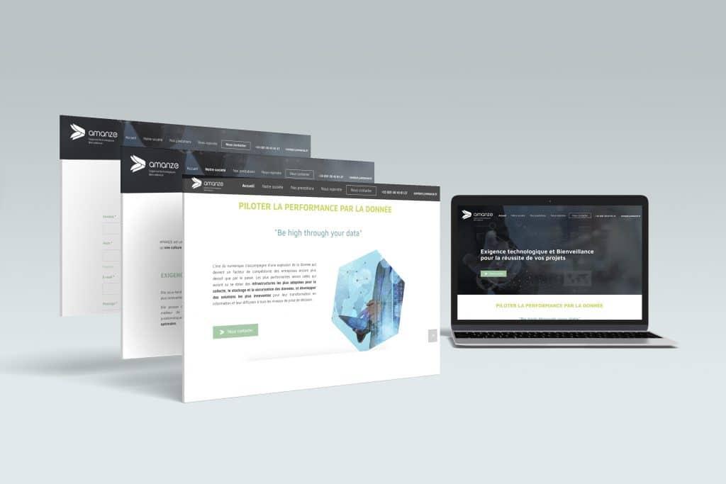 site internet Amanze