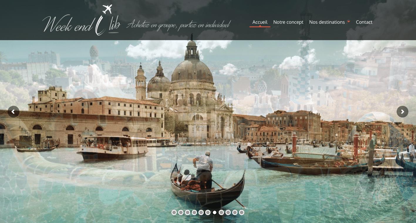 site internet voyage