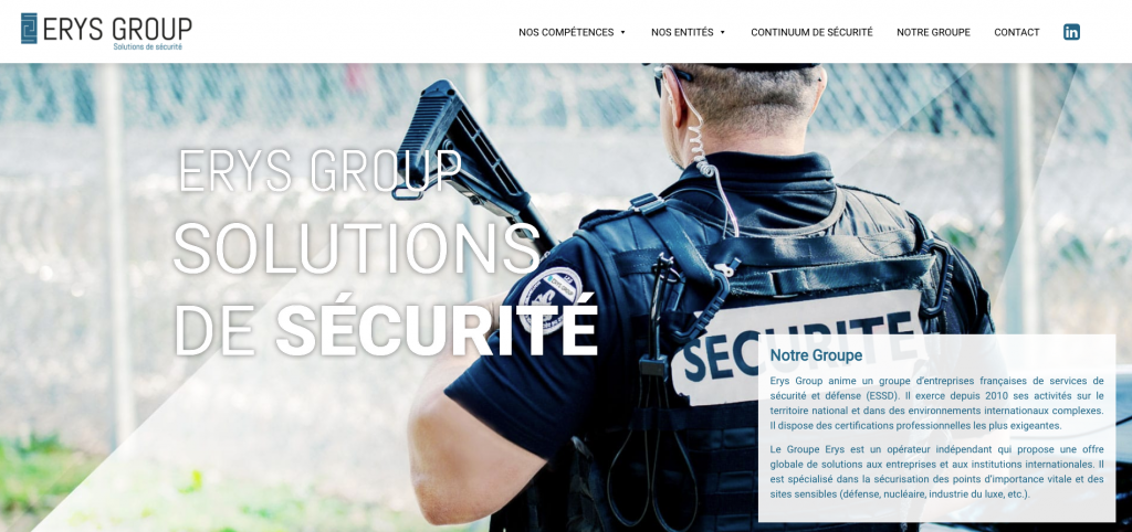 Erys group securite